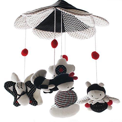 Shiloh - Hängespielzeug für Kinderbetten, mit Musikbox und Halterung -