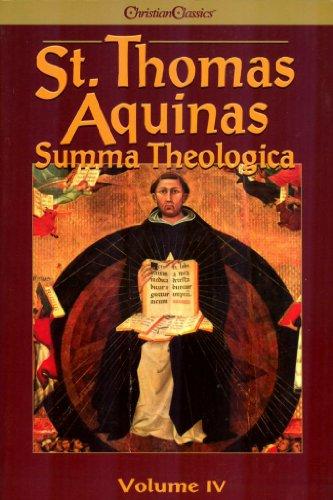 St Thomas Aquinas Summa Theologica Volume 4