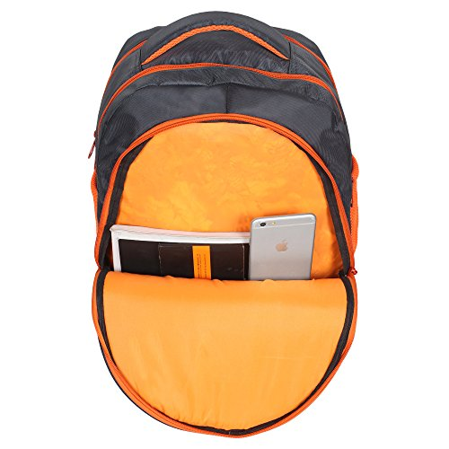 Sassie Grey Polyester 41 Ltr School Backpack Image 6