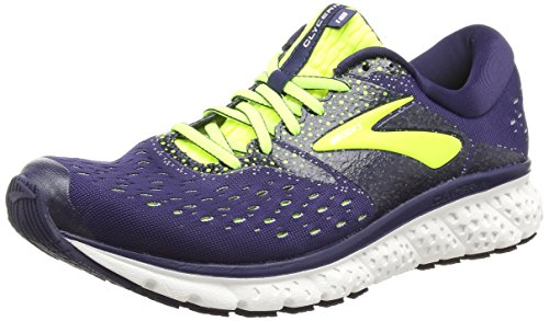 Brooks Glycerin 16, Scarpe da Running Uomo, Multicolore (Navy/Nightlife/Grey 426), 44.5 EU