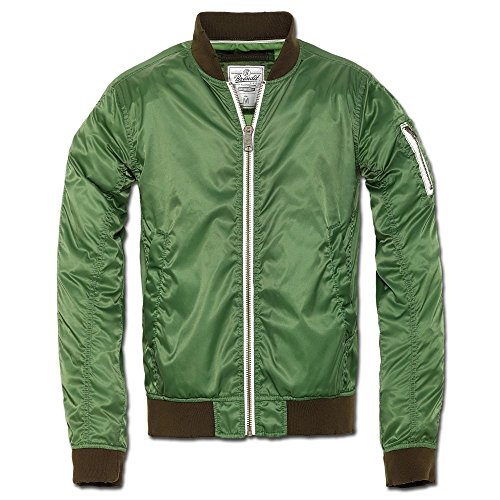 Jacke Brandit Portland grün Grün