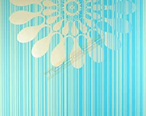 panels tapete marburg tapeten design 51551 retro blau. Black Bedroom Furniture Sets. Home Design Ideas
