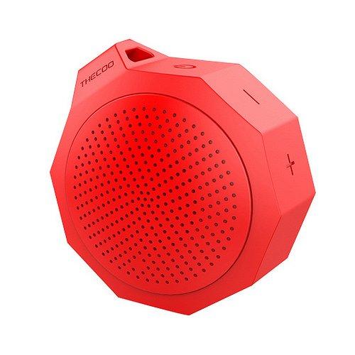 GranVela Thecoo M101 deportes al aire libre de alta fidelidad Bass estéreo portátil altavoz Bluetooth altavoz inalámbrico con a prueba de golpes impermeable micrófono incorporado manos libres llamando para iPhone, iPad, Samsung, Nexus, HTC y más
