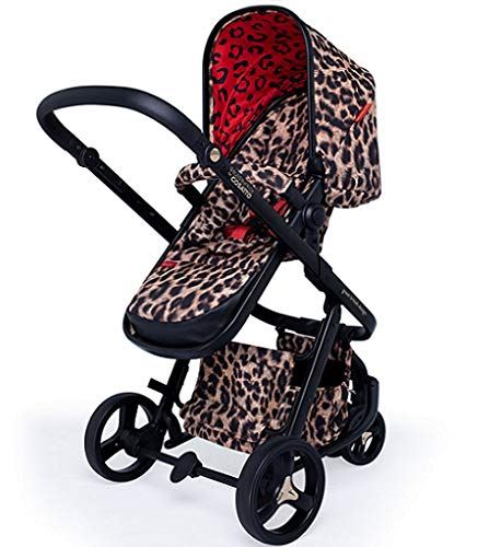 Cosatto Paloma Giggle 3 Travel Sytem Hear us Roar with Car Seat adaptors & Raincover Cosatto Includes - Pushchair, Carrycot, Port Car seat, adaptors and Raincover All round suspension Suitable from birth carrycot and Car seat 5