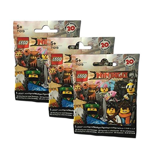 Preisvergleich Produktbild The Lego NINJAGO Movie 3er Set 71019 Minifigures