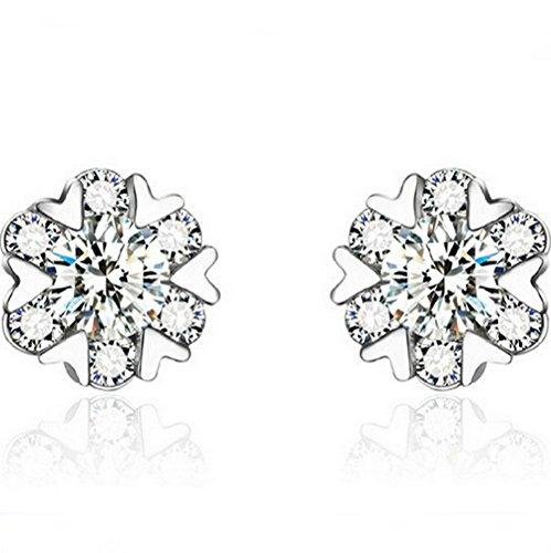 winters-secret-snow-dance-six-heart-shape-romantic-silver-diamond-studded-earring