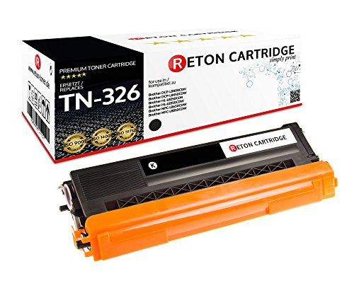 Preisvergleich Produktbild Original Reton Toner,  kompatibel,  Schwarz für Brother TN-326 (TN326BK),  HL-L8250,  L8350,  L8350CDWT,  L8250CDN,  L8350CDW,  MFC-L8600,  MFC-L8850,  MFC-L8600CDW,  MFC-L8850CDW