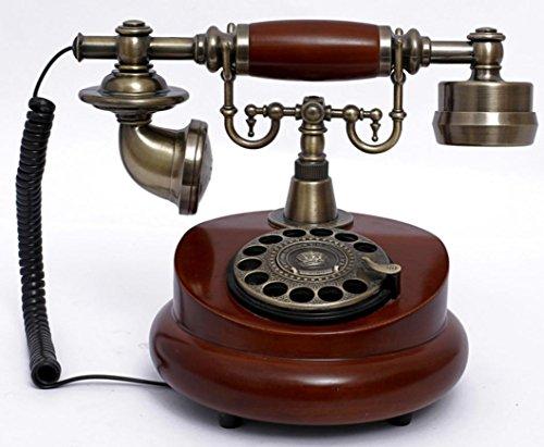 JinRou Contemporanea/antico telefono Vintage classica europea home office telefono su rete (High End Telefoni Cordless)