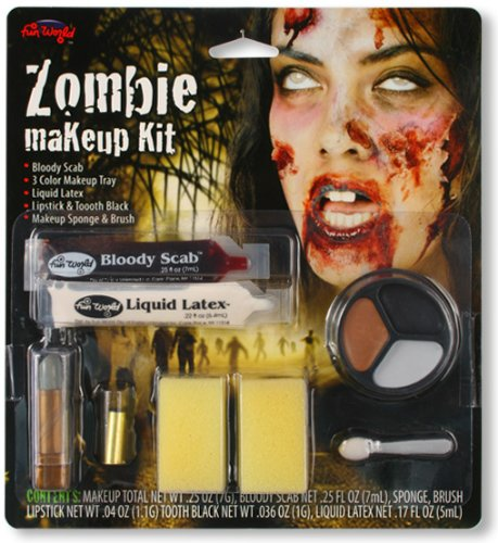 Up Latex Flüssig Make Zombie (Make Up Set Zombie Girl)