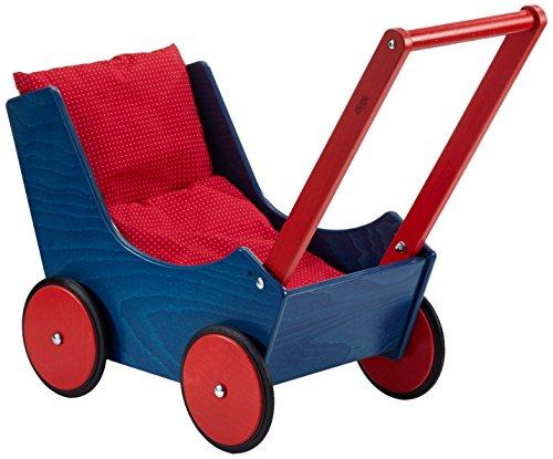 Haba 1625 Puppenwagen blau