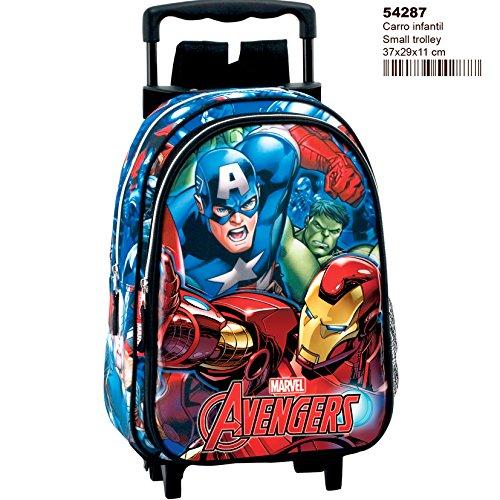 Avengers Return - 54287 - Mochila infantil con ruedas.
