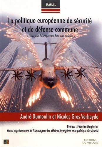 La politique européenne de sécurité et de défense commune :