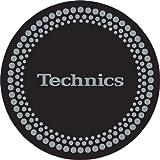 Technics DMC DJ Slipmats (1 Paar) schwarz/silberfarben