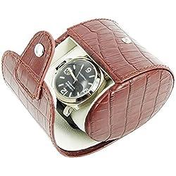 New 1 Leather Watch Travel Pouch Wristwatch Storage Case Box