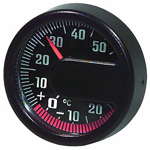 HP PFEFFERKORN_bundle Set INNENTHERMOMETER + Jumbo Uhr DIGITAL Datum + PARKSCHEIBE Selbstklebend
