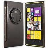 Silikonhülle Schutzhülle für Nokia Lumia 1020 schwarz und transparent