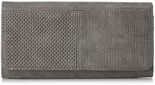 s.Oliver (Bags Damen 39.808.93.5570 Geldbörse, Grau (Smoked Pearl), 3x10x16 cm