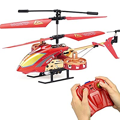 GP TOYS RC Helicopter 4 Channel with Gyro Remote Control Heli Infrared Quadcopter Best Choice for Beginner