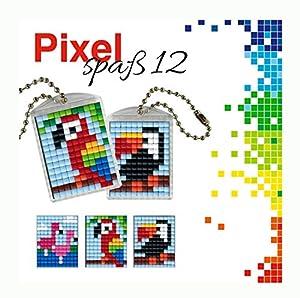 Pracht Creatives Hobby P90051-00505 - Juego de Manualidades para Manualidades (12 Unidades, para 2 medallones, Llavero, para niños, niños y niñas, como pequeño Regalo, para cumpleaños Infantiles)