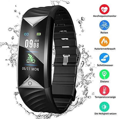 Kombel Fitness Trackers Fitness Armband mit Pulsmesser