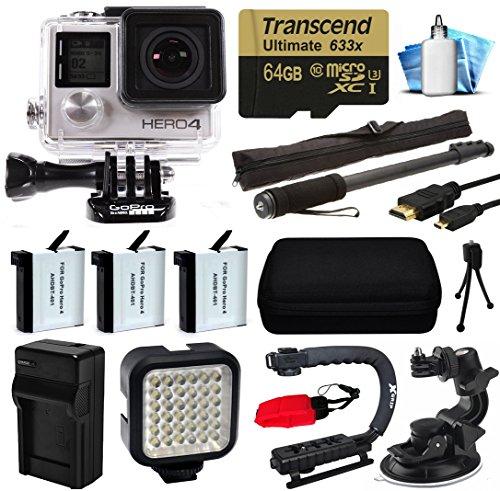 gopro-hero-4hero4black-edition-4k-action-kamera-camcorder-mit-64gb-microsd-karte-3x-akku-mit-ladeger