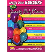 DVD KARAOKE SINGER'S DREAM