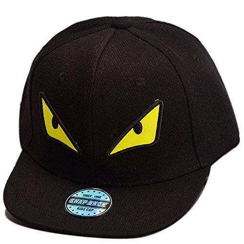 THENICE Kind Hip-Hop Cap Baseball Kappe Hut (Monster schwarz)