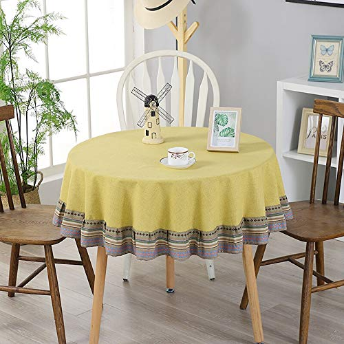 Ronda Mantel, Tela algodón ropa mesa café tela impermeable