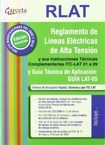RLAT. REGLAMENTOS LINEAS ELECTRICAS ALTA TENSION por Vv.Aa.