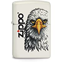 Zippo 2003580 - Accendino 214, motivo: testa di aquila