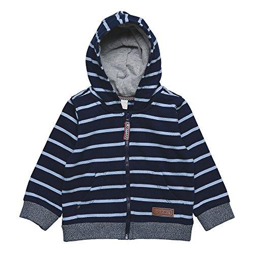 Esprit Kids Baby-Jungen Jacke Cardigan, Blau (Navy 490), 80 (80)