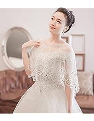 &huahua Hombro de mantón de novia cadena/collar/la joyería/de la boda accesorios/cordón/moda/capa/fina , a