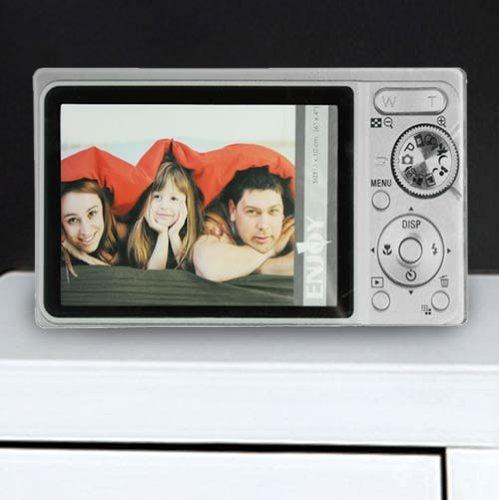 Preisvergleich Produktbild CDC - Glasbilderrahmen Fotoapparat - bb_D4005161 - Negro