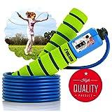 Veluxio saltar la cuerda ajustable para niños con contador