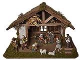 Alfred Kolbe Krippen 1417/12 Weihnachtskrippe aus Holz für 11-13 cm Figuren 59 x 30 x 30 cm