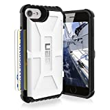 Urban Armor Gear Trooper Card Case für Apple iPhone 7/6S weiß