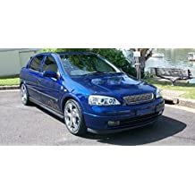 ... Vauxhall Opel Astra G. Badgeless cromo parachoques delantero Grille Grill plástico ABS