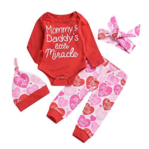 Borlai - Conjunto - bebé niña Rojo Rosso 6-12 Meses