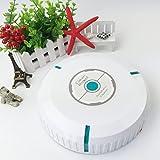 Balayeuse Robot Ménage Auto Robot Cleaner Robot Aspirateur Donner 20 Pièces Microfibre Tissus, Mini Taille 5.5X23 Cm - Style De Charge,White