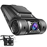 Best Dash Cam Duals - Coche Dash Cam, panlelo D1 vehículo cámara HD Review