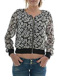 blousons ete molly bracken star ladies woven outwear jacket noir