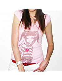 Young Light : T-shirt Femme imprimŽ manga ONE IN THE CITY