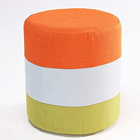 Washable Stool / Cloth Stool / Sofa Seat / Home Personalized Coffee Table Stool / Fashion Creative Footrest Stool (30 * 35cm)
