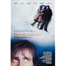 """Stampa della locandina del film """"Eternal sunshine of the spotless mind"""" (""""Se mi lasci ti cancello"""", versione inglese), dimensioni approssimative 30,5 cm x 20 cm"""