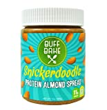 Buff Bake Protein Almond Spread, Snickerdoodle, 13 Ounce by Buff Bake