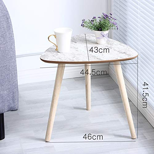 Jxxddq tavolino da caffè tavolino da salotto moderno tavolino da salotto tavolino da salotto con combinazione di angoli decorativi (dimensioni : 60x46.5x58cm)