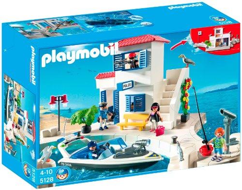 Playmobil - Puerto Policía+Lancha 5128