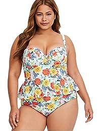 17f74ab03576c POLP Ropa de baño Bikinis Tallas Grandes Mujer Gorda Camisolas Mujer 2019 Push  up Bañadores de