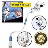 Flexxicam Universeller Baby-Kamerahalter–flexibler Kamerahalter fürs Kinderzimmer kompatibel mit den meisten Baby-Kameras/-Sprechanlagen