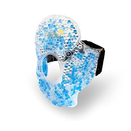 Zhu-Zhu - Knie und Ellbogen Kälte- und Wärmekompresse - Therapeutische Gel Perlen ideal zur Muskelentspannung und Linderung von Gelenkschmerzen und bei Sportverletzung